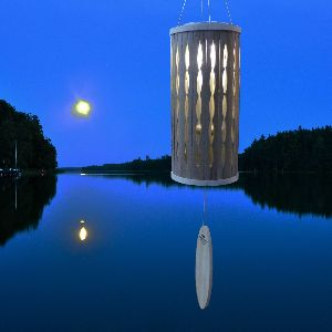 Phot of Aloha Solar Wind Chime Natural from Woodstock
