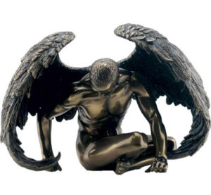 Photo of Angel Strength Bronze Figurine