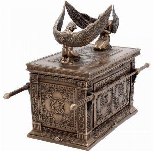 Photo of Ark of the Covenant Bronze Box Figurine