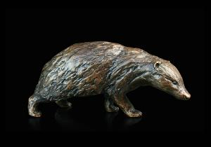 Photo of Badger Bronze Figurine (Limited Edition) Michael Simpson