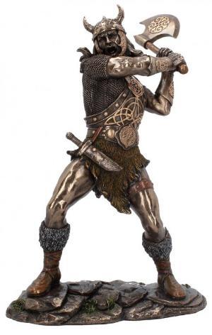 Photo of Berserker Bronze Statue 28 cm