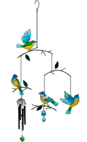 Photo of Birds in Branches Wind Chime Mobile
