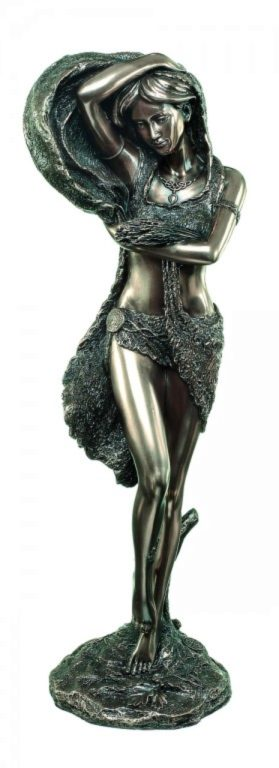 Photo of Celtic Spirit of Nature Bronze Figurine