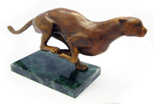 Photo of Cheetah Bronze Ornament