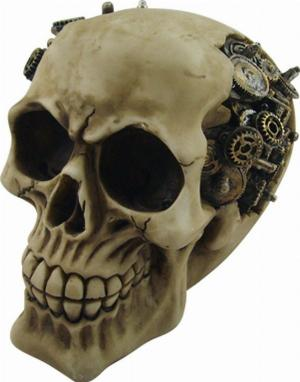 Photo of Clockwork Cranium Steampunk Skull Ornament