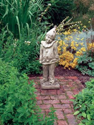 Photo of Clown Stone Garden Statue