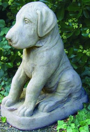 Photo of Dane Puppy Dog Stone Ornament