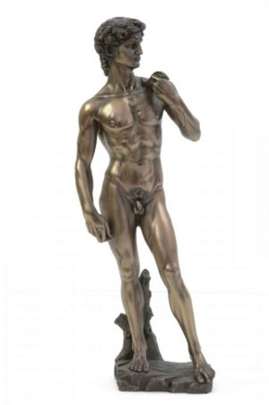 Photo of David Bronze Figurine