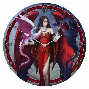 Photo of Dragon Mistress Wall Clock (James Ryman) 34 cm