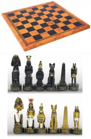 Photo of Egyptian Chess Set
