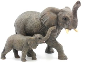 Photo of Elephant and Calf Figurine Leonardo Collection
