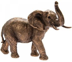 Photo of Elephant Bronze Figurine Leonardo Collection