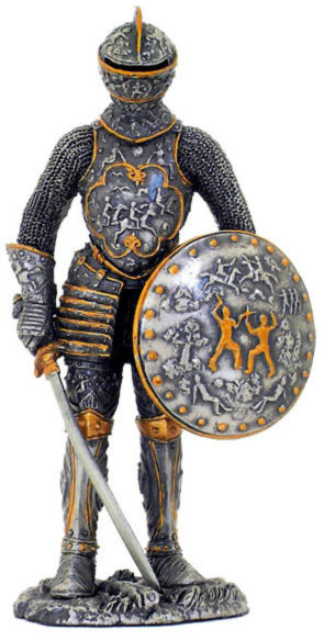 Photo of Elite Medieval Knight Pewter Figurine