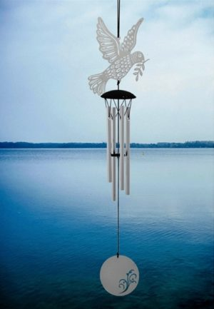 Photo of Flourish Chime Dove Wind Chime (Woodstock)