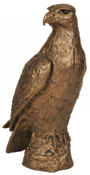 Photo of Golden Eagle Bronze Sculpture (Harriet Dunn) 30 cm