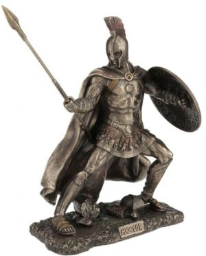 Photo of Hector Bronze Figurine 25 cm