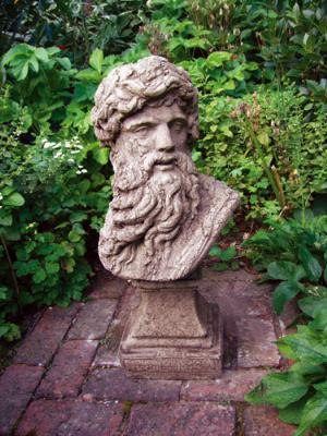 Photo of Hercules Head Stone Sculpture