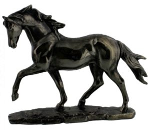 Photo of Horse Figurine Marble Effect Juliana Collection