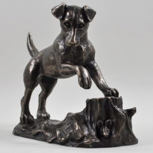 Photo of Jack Russell Bronze Sculpture (Harriet Glen)