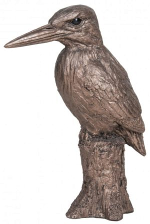 Photo of Kingfisher Bronze Sculpture (Harriet Dunn) 18cm
