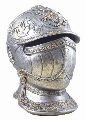 Photo of Knight Helmet Money Bank
