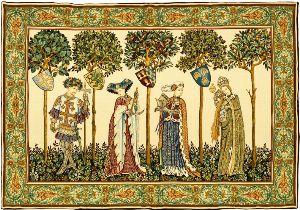 Phot of La Manta Wall Tapestry (4 Figures)