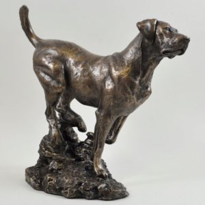 Photo of Labrador Bronze Dog Sculpture (David Geenty)