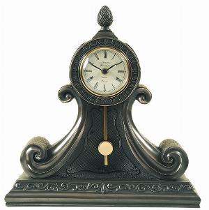 Photo of Large Mantel Pendulum Clock Bronze