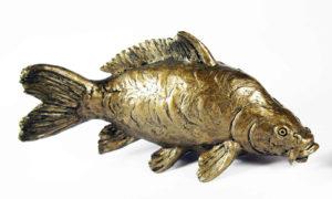 Photo of Mirror Carp Bronze Figurine