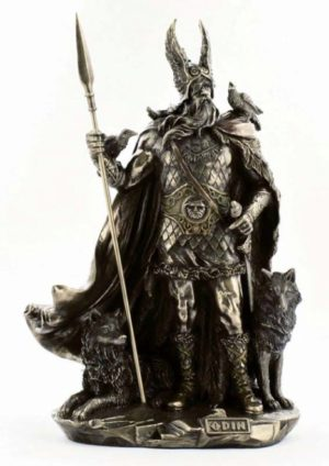 Photo of Odin Bronze Statue 27 cm