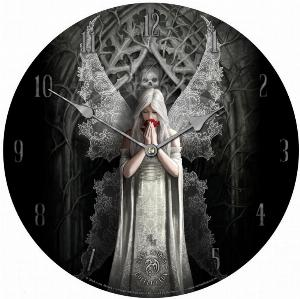 Photo of Only Love Remains Clock 34 cm (Anne Stokes)
