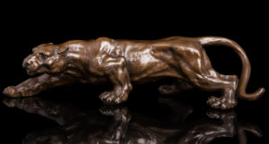 Photo of Panther Bronze Figurine