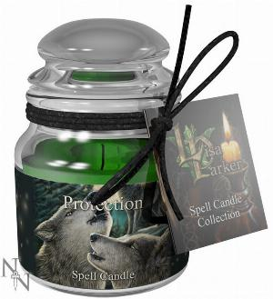 Photo of Protection Spell Candle - Lavender (Lisa Parker)