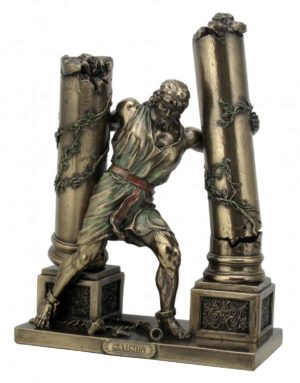 Photo of Samson Bronze Figurine 24 cm