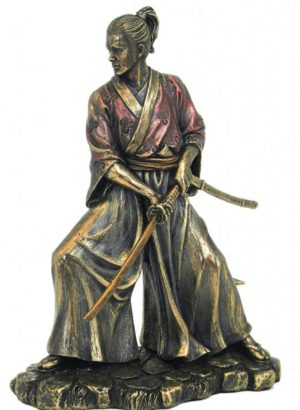 Photo of Samurai Bronze Figurine