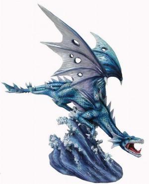 Photo of Sea Dragon Figurine 40cm Large