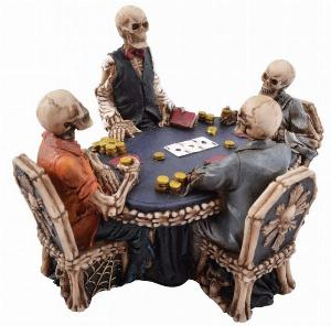 Photo of Skeleton Poker Game