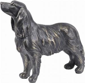 Photo of Spaniel Standing Antique Bronze Finish Figurine