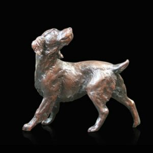 Photo of Springer Spaniel Small Bronze Figurine (Limited Edition) Michael Simpson