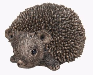 Photo of Squeak Small Hedgehog Bronze Sculpture (Thomas Meadows)