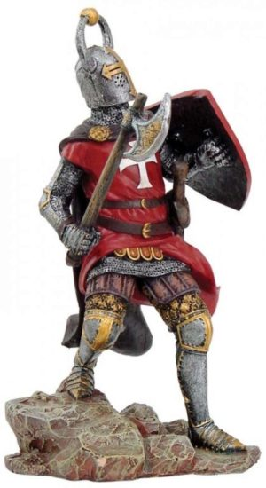 Photo of Teutonic Knight with Axe