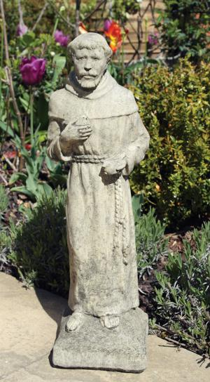 Photo of The Friar Stone Garden Statue 56cm