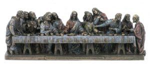 Photo of The Last Supper Bronze Figurine 24 cm