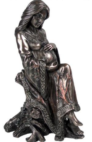 Photo of The Mother Bronze Figurine Luna Lakota