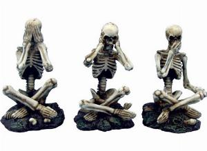 Photo of Three Wise Skeletons Ornaments