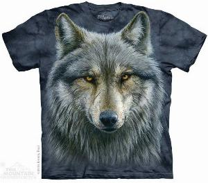 Photo of Warrior Wolf T Shirt The Mountain