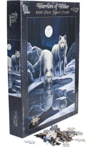 Photo of Warriors of Winter Wolf Jigsaw (Lisa Parker) 1000 pieces