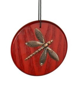 Photo of Woodstock Wind Chime with Brass Dragonfly (Habitats)