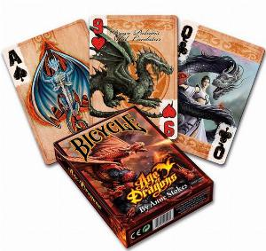Photo of Anne Stokes Age of Dragons Playing Cards Deck
