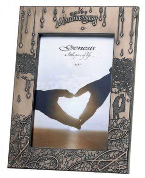 Photo of Anniversary Frame Bronze 5 x 7